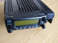 ICOM IC-207 Mobile VHF/UHF Transceiver