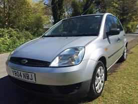 2004 IMMACULATE CONDITION THROUGHOUT FORD FIESTA LX 1.25CC 5DOOR,ONLY 79K MILES,FULL SERVICE HISTORY