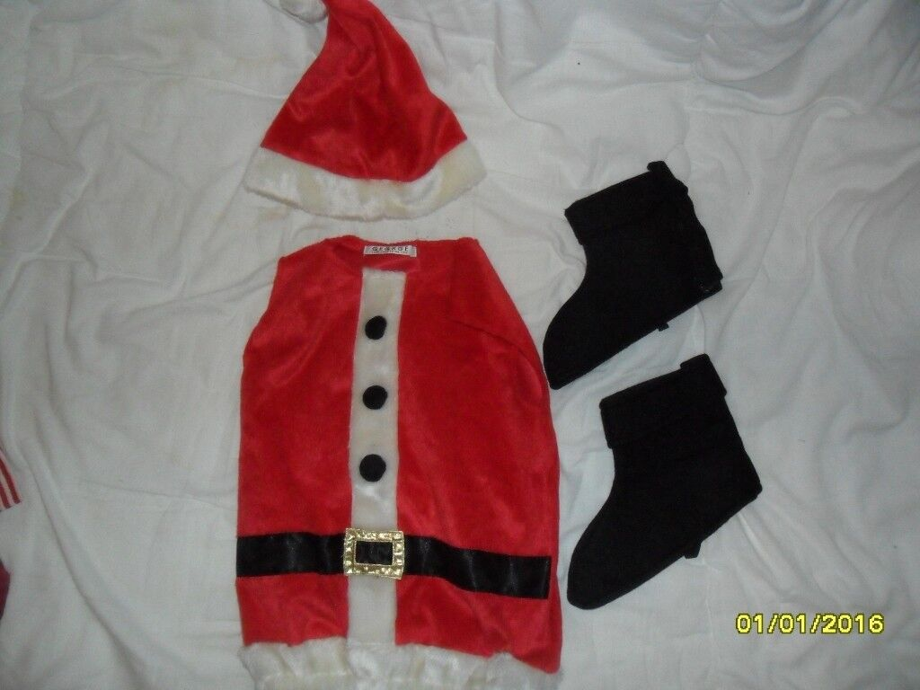 956cc0d1d3727 Toddler's Santa outfit by George (Asda) – 3-5 yrs   in Bungay, Norfolk ...