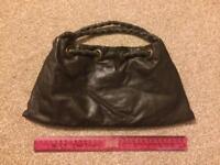 Brown leather handbag by Jocasi