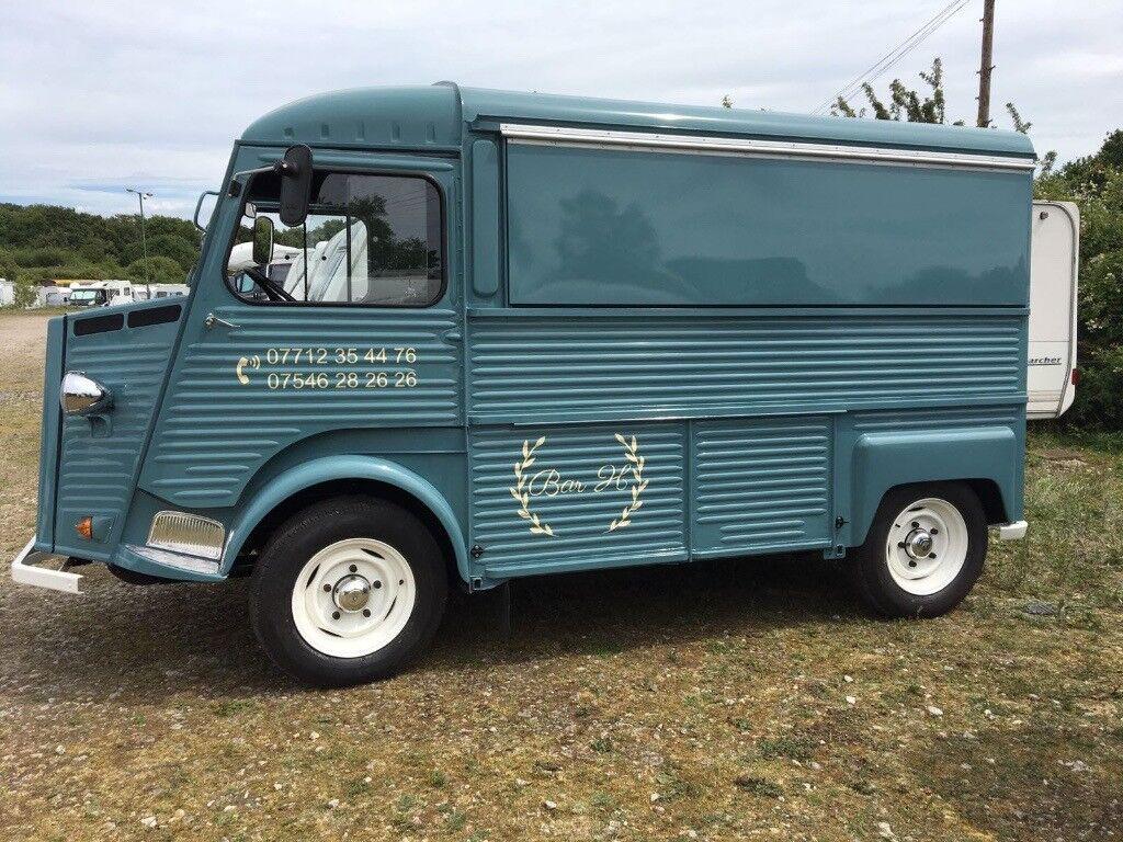 2fd8a3043053d5 Vintage Citroen Hy   H Van Bar Conversion