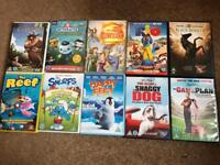 10 kids dvds rated U
