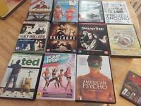 DVDs £2 each