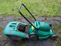 QUALCAST POWER TRAK 340 LAWNMOWER FOR PARTS OR REPAIR
