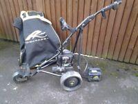 Powercaddy golf trolley