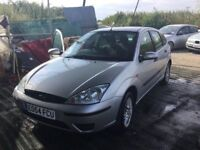 54 REG FACELIFT MODEL FORD FOCUS LX AIR CON ALLOYS FSHISTORY LONG MOT VERY RELIBLE CAR ANYTRIAL WELC