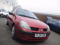 Renault Clio Expression, Low miles, good MOT