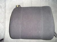 HALFORDS CAR SEAT CUSHION BACK SUPPORT LIKE NEW