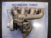 Ford Fiesta RS Turbo with Exhaust Manifold
