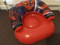 Inflatable Spider-Man Kids Chair