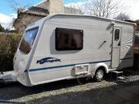 Bailey Ranger 460/2 2004 2-Berth Caravan - fantastic condition, motor mover and many extras included