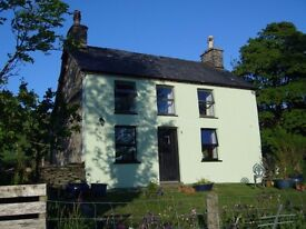 73 acre farm/smallholding, 2 bed cottage, traditional outbuildings, stunning views, huge potential