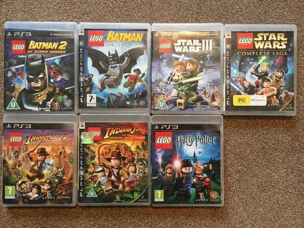 New Lego Games For Ps3 : Ps lego games in kings norton west midlands gumtree