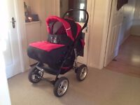 Push Chair + Car seat + Carry cot