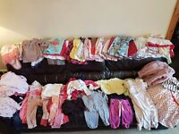 Girl baby clothes bundle 9-12month £35