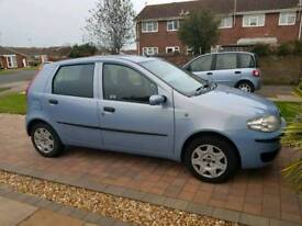 Fiat punto 1.2 16v 25,500 miles!!! 1 years MOT 1 previous owner!