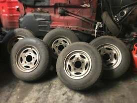 Landrover wheels and tyres x5