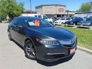2015 Acura TLX FULLY LOADED!!-LOW KM'S!!-ACURA WARRANTY-CAM-NAVI