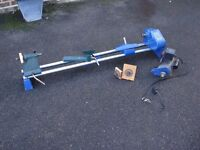 "record wood turning lathe, 36"" strong perfect condition,"
