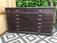 Plan chest/architects drawers / haberdashery cabinet