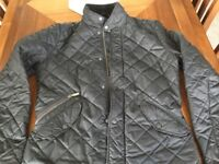 Barbour men's black quilted jacket (XS)