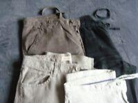 Men's linen trousers bundle