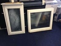 2x pvc windows free to collector