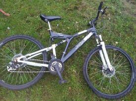 "Trax fearless disk brake 26"" mountain bike"