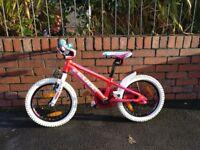 Pink Girls Cube Bike 16inch wheels, COLLECT SWANSEA/BRIDGEND