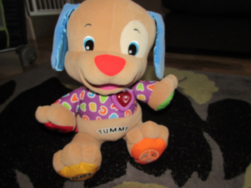 Fisher Price laugh and learn puppy dog interactive educational toy pre school