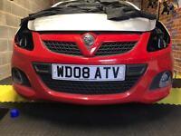 Corsa VXR Front Bumper