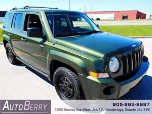 2009 Jeep Patriot Sport 4WD *** Certified and E-Tested ** $5,299