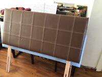 Leather headboard immaculate