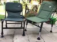 Fishing/camping chairs