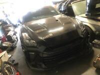 R35 GTR Front headlights pair RHD
