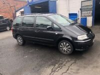 Seat alhmbra 1.9 diesel MOT good condition for the Engine gearbox excellent