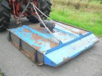 Tractor three point linkage pto driven Fleming 5ft grass field paddock topper