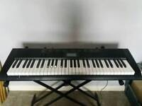 Casio CTK1100 Electronic keyboard and stand