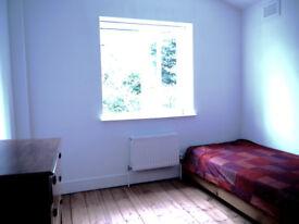 Bright room in house in Hackney.