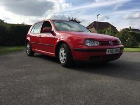 VW Golf MK4 1.4L RED