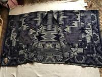 Moon soon Accessories ladies shoulder scarf brand new with tags Navy blue colour £10