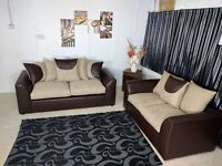 **EXPRESS DELIVERY** BRAND NEW CHEAP PARIS 3 + 2 SOFA UNIT ON SPECIAL OFFER