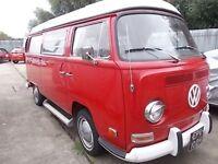 1970 Californian VW T2 Campervan Westfalia Campmobile