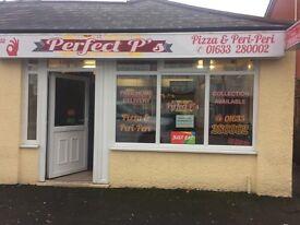 Perfect P's, Pizza and Peri Peri shop for sale