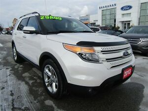 2013 Ford Explorer Limited | AWD | 3 ROW SEATING | SYNC |