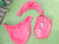 OYSTER CARRYCOT COLOUR PACK IN RED