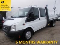 Ford Transit 350 RWD 2.2 TDCi 100 LWB 1 Way Tipper