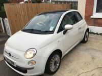 2012 fiat 500 Lounge, low mileage, long MOT, one former owner, full service history by main dealer