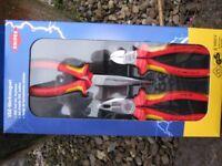 Knipex KPX002012 Elektro Pack - VDE Certified Pliers Set (3)