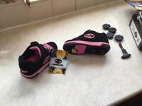 Brand new Heelys for sale: black and pink. Size UK 13, EUR 32